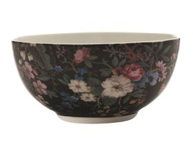 Maxwell and Williams - William Kilburn 16cm Breakfast Bowl - Midnight Blossom