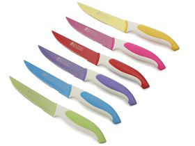 Maxwell and Williams - Slice and Dice 6 Piece Steak Knife Set