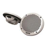 "Fusion 6"" 2-Way Speakers, 150 Watt Pair (Shallow Mount) - FUS-MS-EL602"