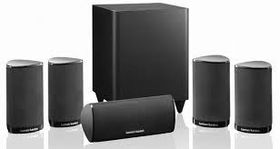 harman kardon 7 1 home theater system. harman kardon hkts5bk speaker pack 7 1 home theater system