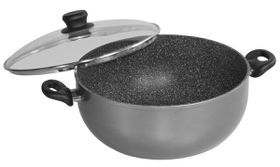 Stoneline - 3 x Extra-Large Cooking Pot - 32cm