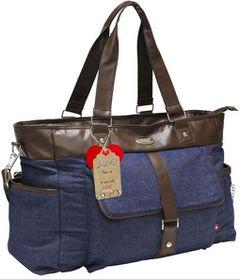 LittleCo - Nappy Bag - Blue Denim