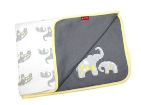 LittleCo - Interlock Blanket - Greys