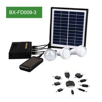 Solar Light System And Cellphone Charger