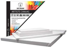 Artboard Canvas 3D Box Canvas - 4 x 4""