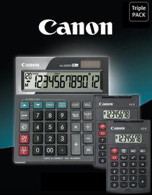 Canon Triple Calculator Pack