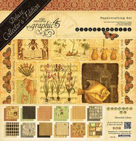 Graphic45 Botanica Bella 12 x 12 Paper Pad