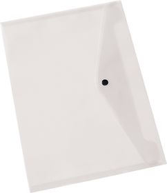 Bantex A4 PP Document Envelope - Clear
