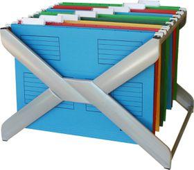 Bantex Suspension File Rack - Silver
