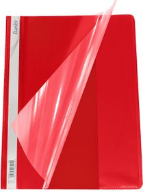 Bantex A4 Medium Weight Quotation Folder - Red