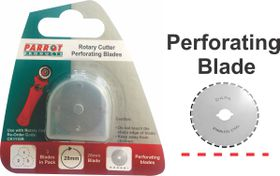 Parrot Craft Rotary 28mm Perforating Blades Refill Pack