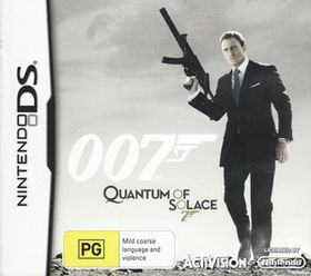 James Bond: Quantum of Solace (OZ) (NDS)