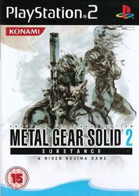 Metal Gear Solid 2: Substance (BBFC) (PS2)