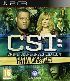 CSI: Crime Scene Investigation - Fatal Conspiracy (PS3)