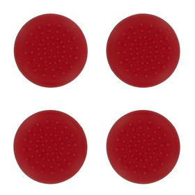 TPU Thumb Grips - Red (Assecure) (PS4)