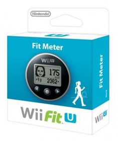 Wii Fit U Meter in Black (OZ) (Wii-U)