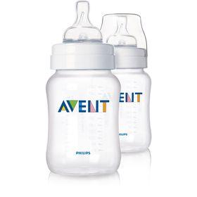 Avent - Classic Plus - Airflex Feeding Bottles - 260ml Twin