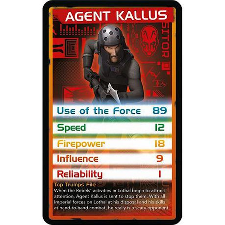 Top Trumps: Star Wars Rebels | Buy Online in South Africa | takealot com
