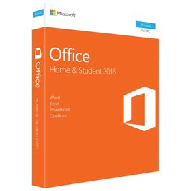 Microsoft Office Home and Student 2016 - Medialess Keycard