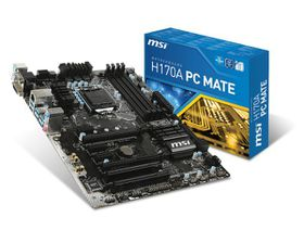 MSI Intel H170A PC Mate H170 Chipset