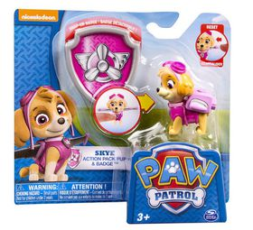 Paw Patrol Pup With Transforming Backpack - Skye
