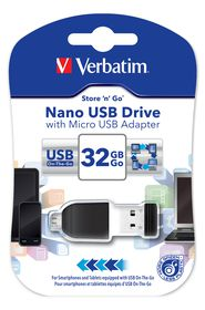 Verbatim 32GB  OTG Store and Stay USB