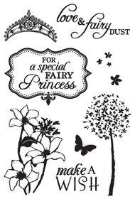Kaisercraft Fairy Dust Clear Stamp