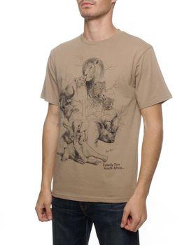 Family Tree T-Shirt - Stone