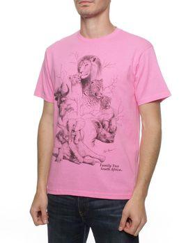 Family Tree T-Shirt - Hot Pink
