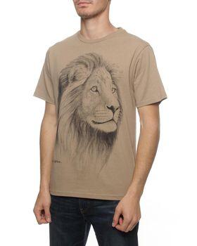 Lion T-Shirt - Stone