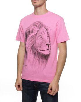 Lion T-Shirt - Hot Pink