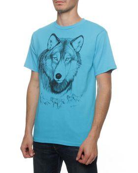 Wolf T-Shirt - Turqoise