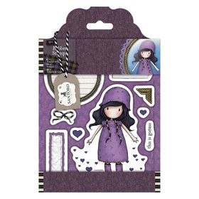 Docrafts Gorjuss Rubber Stamp - Rainy Daze