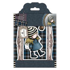 Docrafts Gorjuss Rubber Stamp - The Friendly Hedgehog