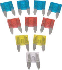 Moto-Quip - Miniature Blade Fuses - 10 Piece