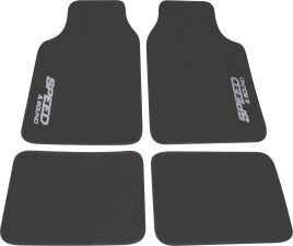 Moto-Quip - Car Carpet Mat Set - 4 Piece