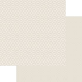 Lady Pattern Paper Basic Essentials Moroccon Trellis - So Buff (10 Sheets)