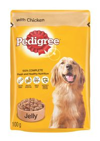 Pedigree - Adult Pouch Chicken In Jelly - 0.1kg