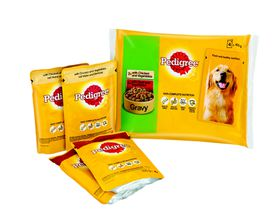 Pedigree - Adult Pouch Multi-Pack - Chicken & Beef With Veg In Gravy