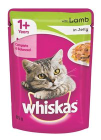 Whiskas - Adult Pouch Lamb In Jelly - 0.085kg