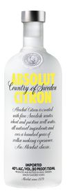 Absolut - Citron Vodka - 750ml