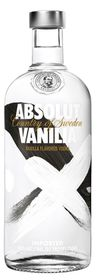 Absolut - Vanilla Vodka - 750ml