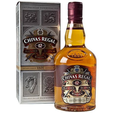 Chivas Regal - 12 Year Old Scotch Whisky - 750ml