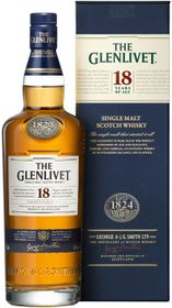The Glenlivet - 18 Year Old Single Malt Whisky - 750ml