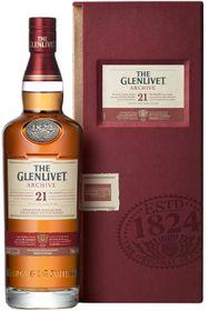 The Glenlivet - 21 Year Old Single Malt Whisky - 750ml
