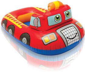 Intex - Boat - Pool Cruiser - Red Sports Car