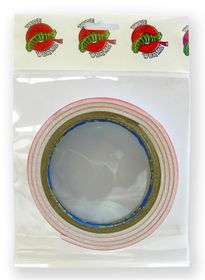 Tape Wormz White Double Sided Foam Tape - 3mm x 12mm x 1m