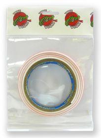 Tape Wormz White Double Sided Foam Tape - 3mm x 18mm x 1m
