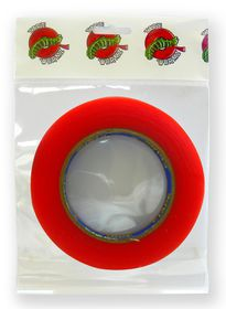 Tape Wormz Red Double Sided High Tack Tape - 12mm x 25m