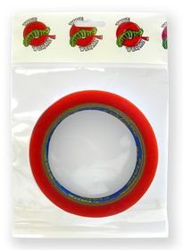 Tape Wormz Red Double Sided High Tack Tape - 18mm x 10m